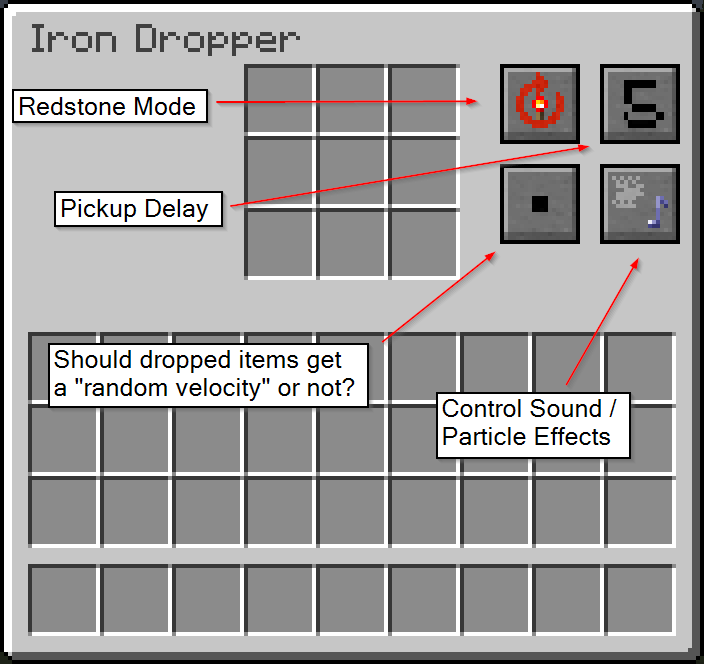 Iron Dropper - Random Things